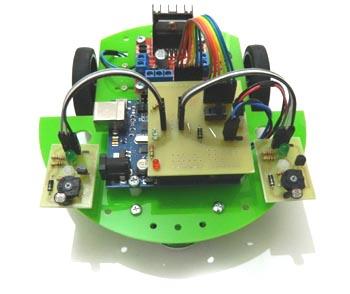 Arduino Light Follower Robot