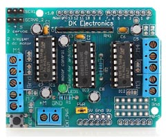 Arduino L293D Motor Sürücü Shield
