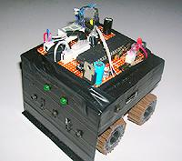 Mini Sumo Robot Hunter