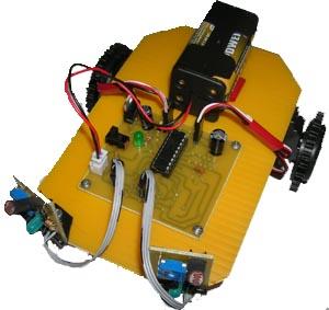 Light following robot with servo motors for Robotic motors or special motors