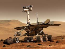 Spirit and Opportunity Mars Rovers