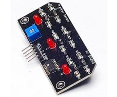 TCRT5000 Üç Sensörlü Çizgi Sensörü Modülü