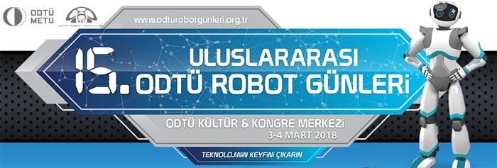 16 Uluslararası Odtü Robot Günleri 2019